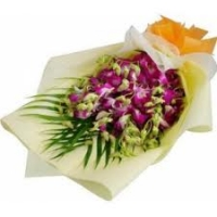 Purple Orchids Bouquet